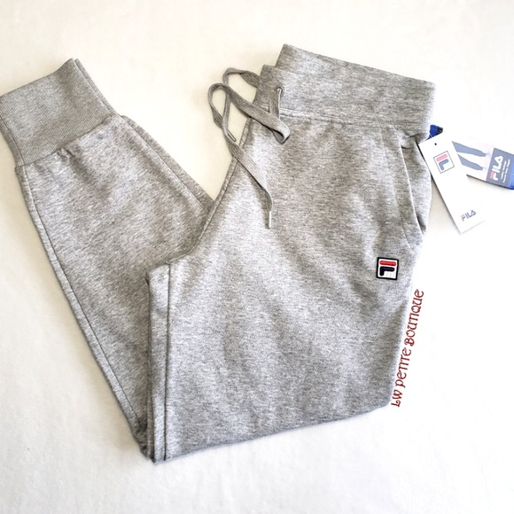 Fila Ladies French Terry Joggers NWT